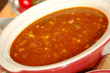 Corn and Andouille Soup