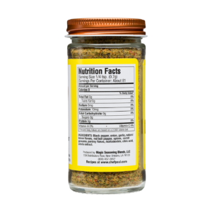 Salt-Free Sugar-Free: Lemon & Cracked Pepper 2 oz.