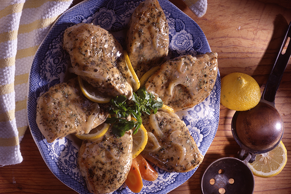 Lemon Dill Chicken (Reduced Calorie, Fat, Sodium)