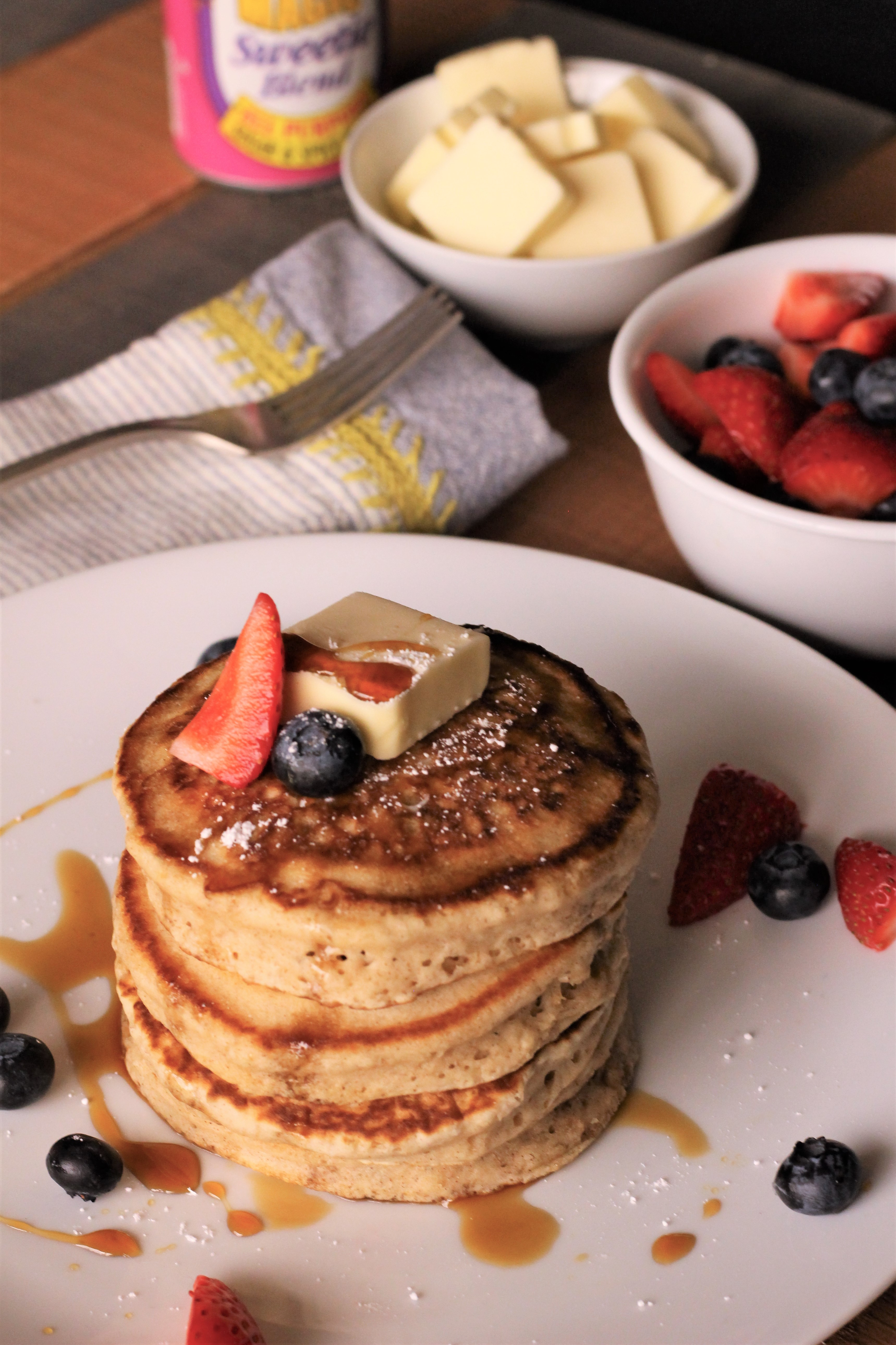 Fluffy Sweetie Pancakes