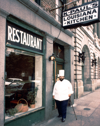 1979—Chef Paul opens K-Paul Kitchen in New Orleans' Historic French Quarter