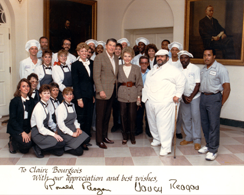 987—Chef Paul and Staff Invited to Prepare Lunch at the White House Congressional Picnic