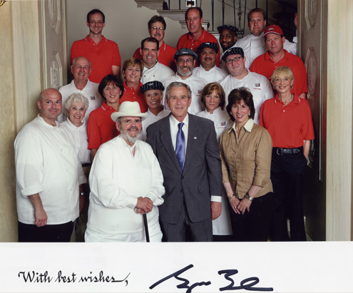 2007—Chef Paul and Staff Invited to Prepare Lunch at the White House Congressional Picnic