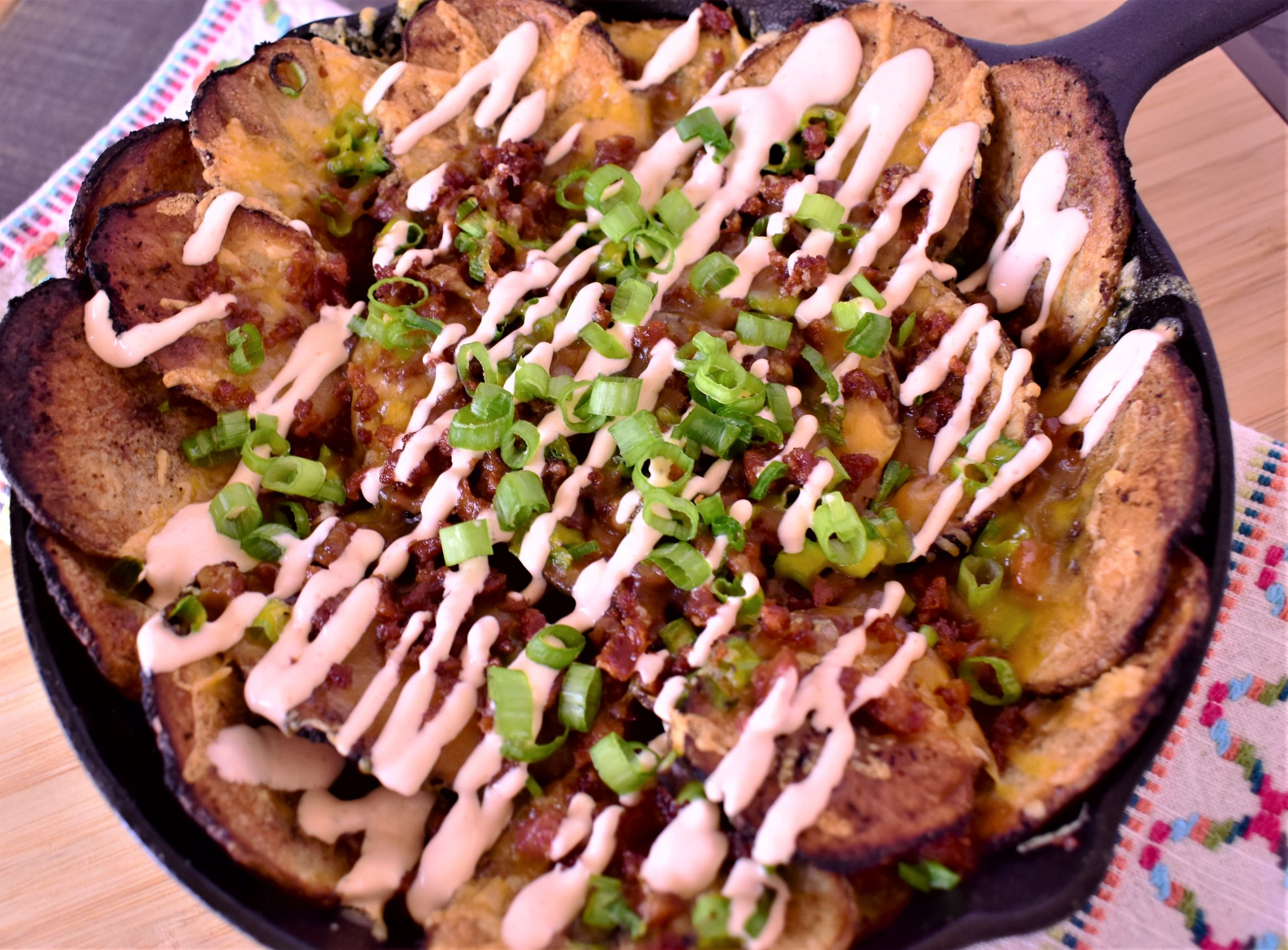 Spicy Irish Nachos