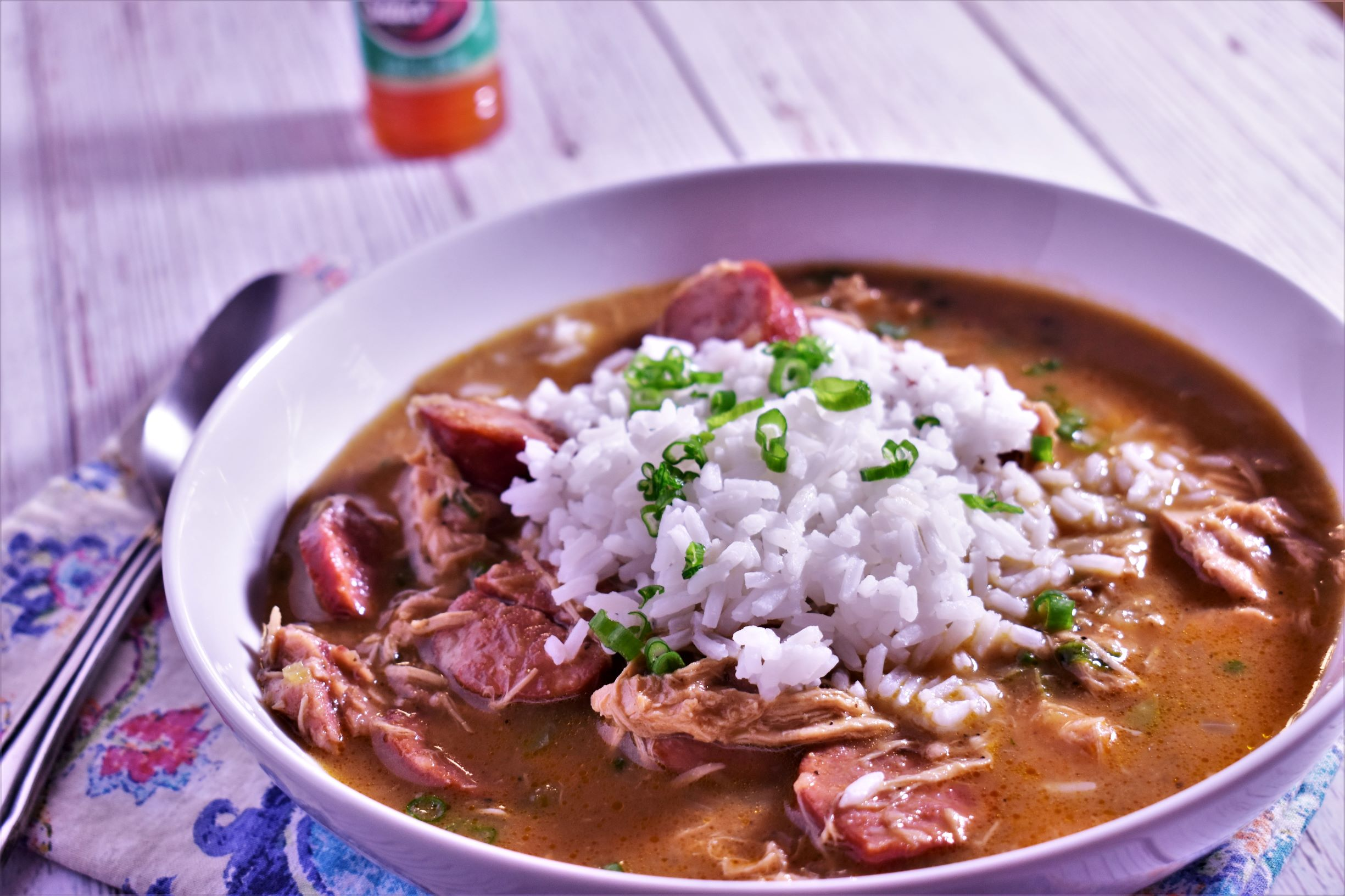 1-Hour Chicken & Sausage Gumbo